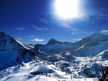 Mount in Andorra photo