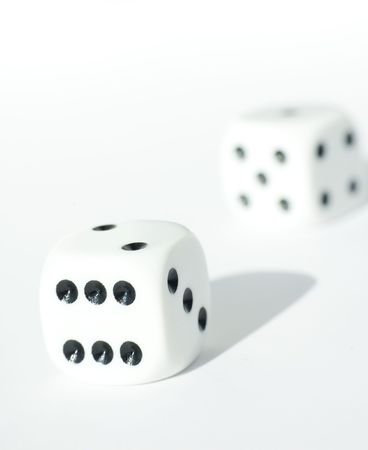 Isolated dice Stock Photo - 490963