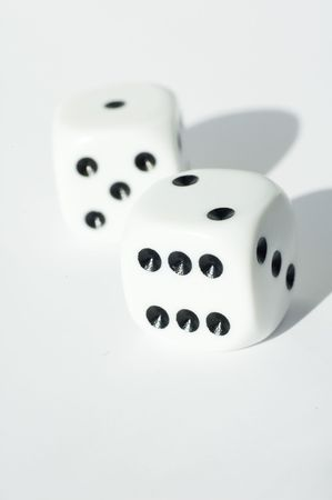 Isolated dice Stock Photo - 490964