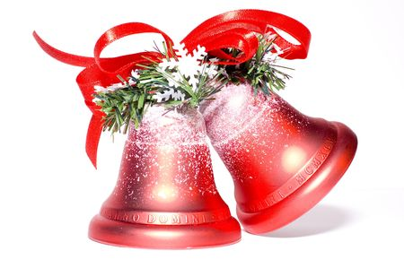 star path: Christmas bells Stock Photo