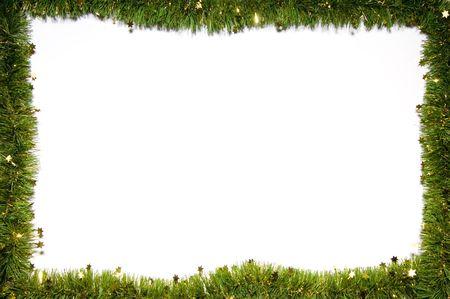 adorning: Christmas still-life isolated on white background