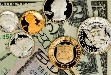 uncirculated: Perfect uncirculated american currency