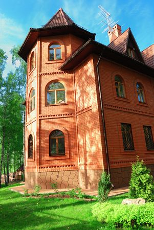 tier: Luxury three tier mansion