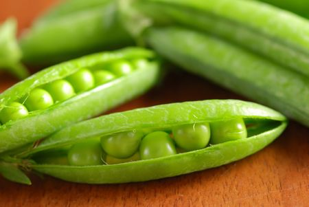 Close-up of ripe beans in its pod Stock Photo - 1334940