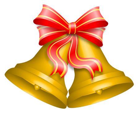 christmas bells: Christmas bells Stock Photo