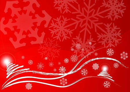 Christmas vector background Stock Photo - 2135806