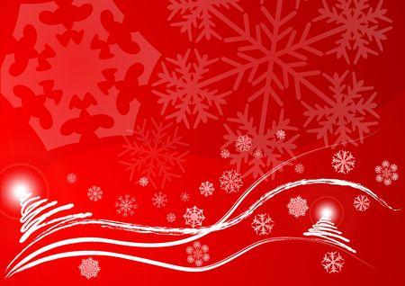 Christmas vector background Stock Photo - 2135806