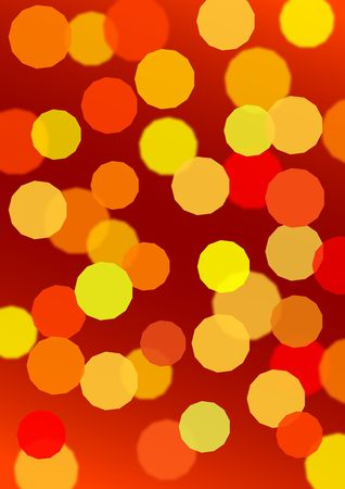 Vector defocus light photo