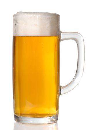 Beer mug isolated on white Stock Photo - 2675794