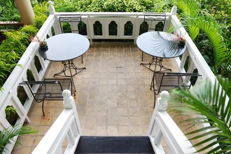 patio deck: Ponte patio in hotel di lusso