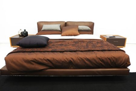Modern luxury expensive bedroom interior Stock Photo - 4636518