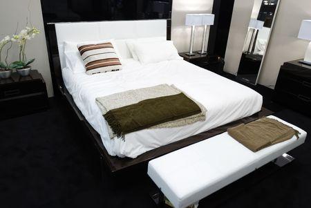 Modern luxury expensive bedroom interior Stock Photo - 4728981