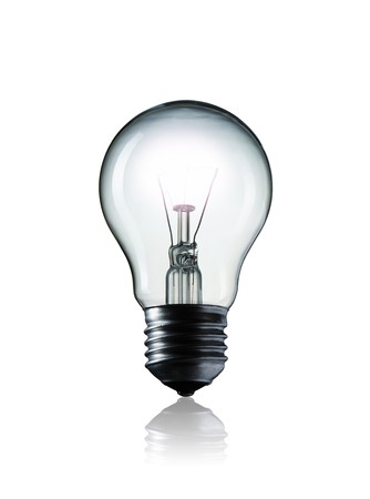 Light Bulb isolated on white background Stock Photo - 6991551