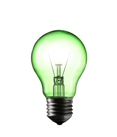 Light Bulb isolated on white background Stock Photo - 7060441