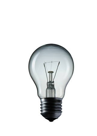 Light Bulb isolated on white background Stock Photo - 7102292