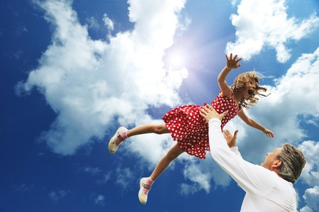 padre e hija: Padre e hija contra el cielo