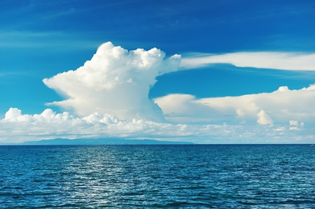 Sky above sea at Bohol, Philippines Stock Photo - 8723667