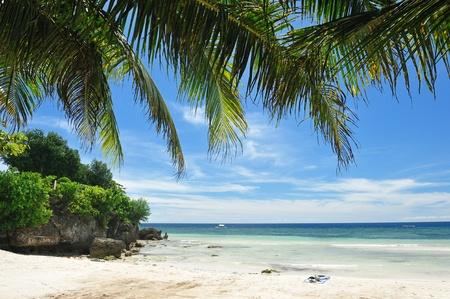 Beautiful Alona beach at Panglao, Philippines Stock Photo - 8829873