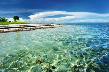 Beautiful beach at Bohol, Philippines Stock Photo - 8829851