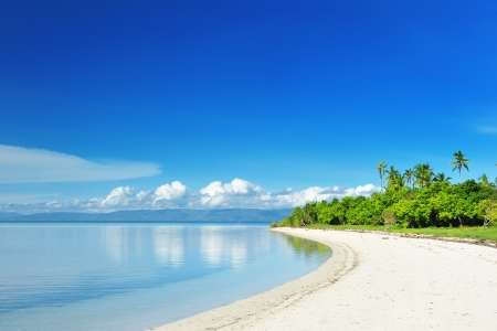 desert island: Beautiful uninhabited island at Philippines