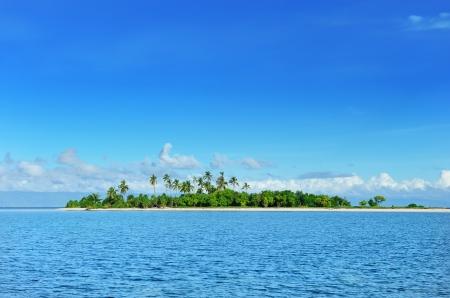 pacific islands: Beautiful uninhabited island at Philippines