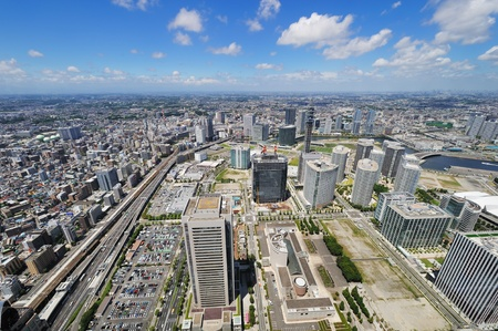 Yokohama Cityscape Stock Photo - 10478100