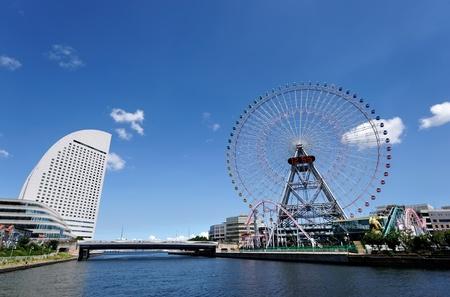 Yokohama Cityscape Stock Photo