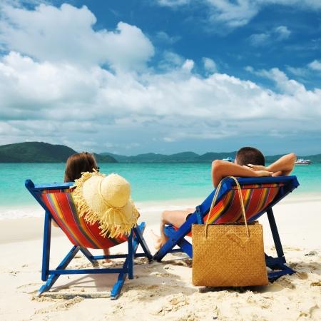 phuket: Couple on a tropical beach