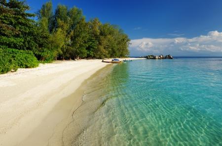 Beautiful beach at Perhentian islands, Malaysia Stock Photo - 16478883