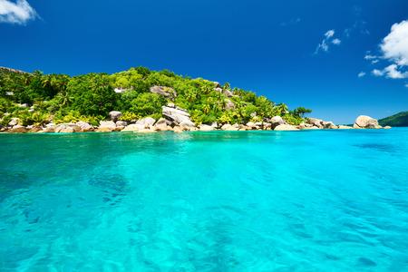 digue: Beautiful landscape at Seychelles, La Digue