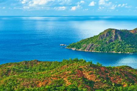 praslin: Beautiful landscape at Seychelles, Praslin
