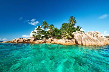 pierre: Beautiful St. Pierre Island at Seychelles