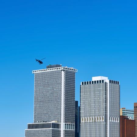 lower manhattan: Lower Manhattan skyline view from Brooklyn in New York City