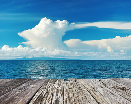 bohol: Sky above sea at Bohol, Philippines