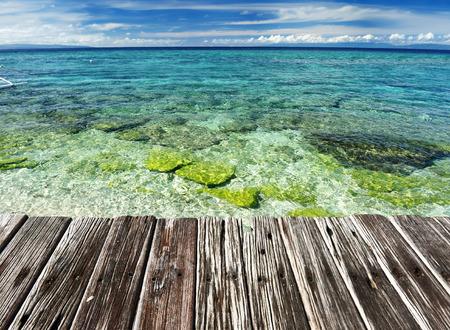bohol: Beautiful beach at Balicasag island, Philippines