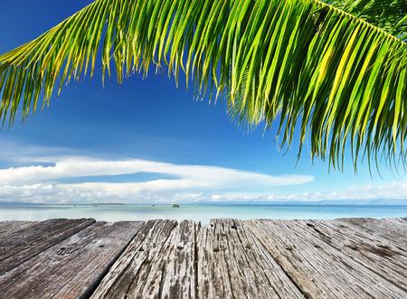 bohol: Beautiful wild beach at remote island, Philippines Stock Photo