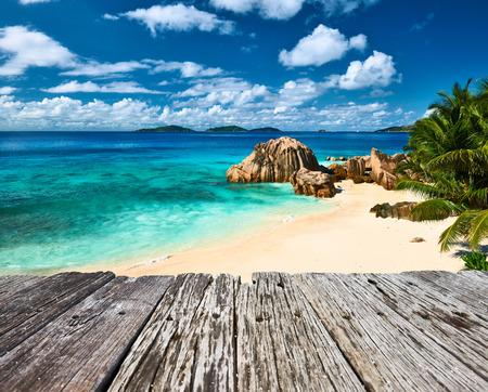 la digue: Beautiful beach at Seychelles, La Digue