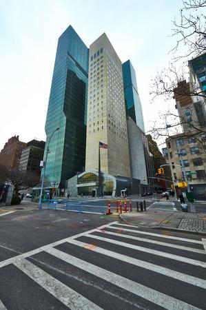 unicef: NEW YORK CITY - 28 marzo: Gli edifici della sede delle Nazioni Unite a Manhattan il 28 marzo 2014 a New York, Stati Uniti d'America