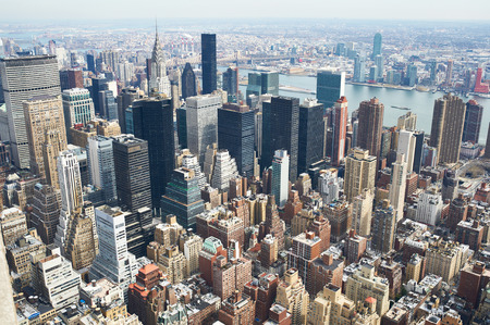 Cityscape view of Manhattan, New York City, USA Stock Photo - 53292970