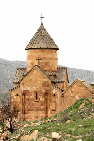 armenia: Ancient monastery Noravank in the mountains in Amaghu valley, Armenia. Was founded in 1205.