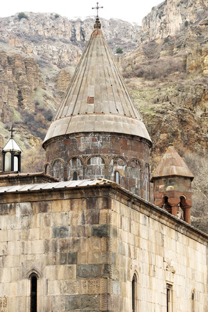founded: Ancient monastery Geghard in the mountains of Armenia. Was founded in 4th century.