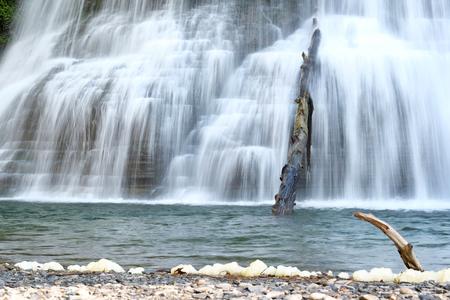 robert: Waterfalls at Robert H. Treman State Park near Ithaca, New York