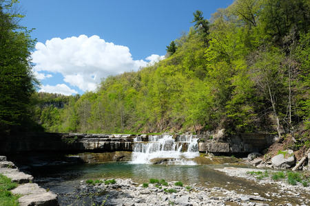 state park: Taughannock Falls State Park near Ithaca, New York