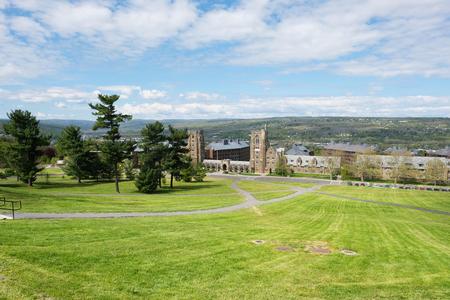 Cornell University in Ithaca, New York 스톡 콘텐츠