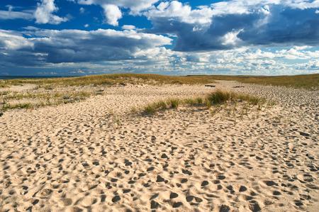 massachusetts: Sand dunes at Cape Cod, Massachusetts, USA.