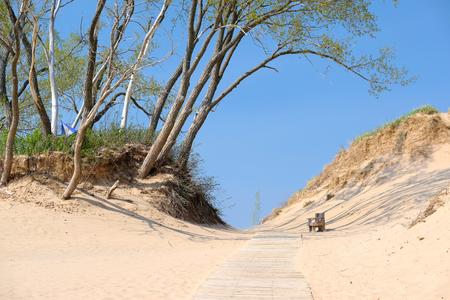 lakeshore: Sleeping Bear Dunes National Lakeshore, Michigan, USA