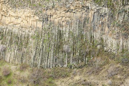 geological formation: Basalt columns geological formation in Armenia