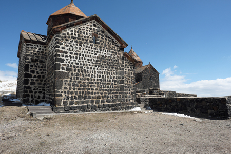 founded: Ancient monastery Sevanavank on Lake Sevan, Armenia. Was founded in year 874.