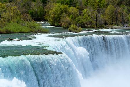 American side of Niagara Falls, New York, USA Stock Photo