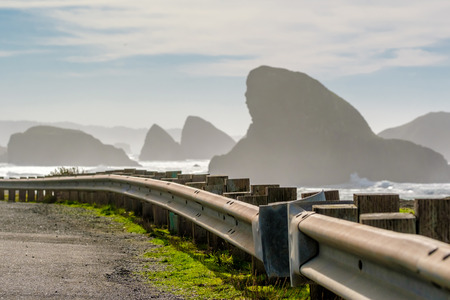 USA Pacific coast landscape, Oregon State